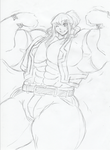 Leo huge muscular by me-go