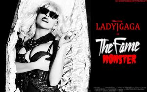 Lady Gaga - Fame Monster WP2 by KeybladeMeister