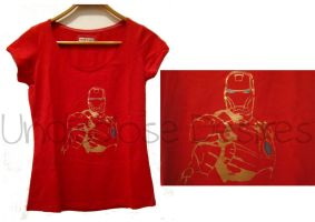 The Avengers - Iron Man - T-shirt by Undisclose--Desires