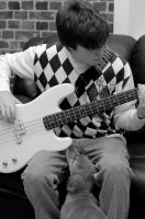 Bass in Black and White by lilbitgimpy