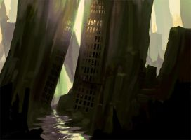 Agonized City by Lanasy