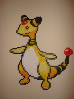 Ampharos Bead Sprite by PaperBeing