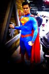 Superman of Wondercon 2 by saxartist05