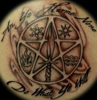 Wiccans creed by n1cKYveysey