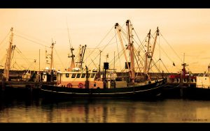 Fisher boat by D-BH