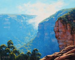 Echo point Katoomba by artsaus