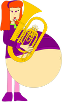 Tubist Daphne vore by Angry-Signs