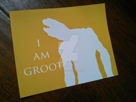 I Am Groot by RambleWriting