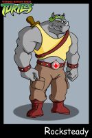 TMNT Rocksteady by PWThomas