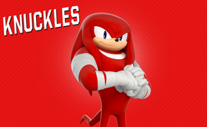 Sonic Boom Wallpaper(V2) (Knuckles) by Millerwireless