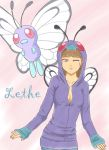 Lethe (Butterfree) by kitkatnis