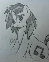 Vinyl Scratch by DubstepBrony4Life