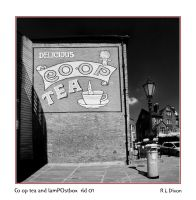 Co op Tea and LamPOstbox rld 01 dasm by richardldixon