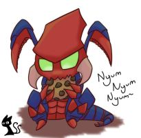 Cho'gath with a Cookie by CaiteSith