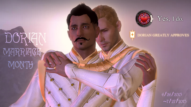Dorian Marriage Month by DorianPavus