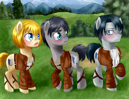 Shingeki no pony! by Zorbitas