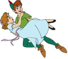 Peter Pan and Wendy by rltsweetie