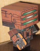 Dead Space Cubee by paperart