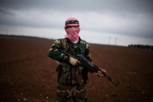 FSA Soldier AKM by saudi6666