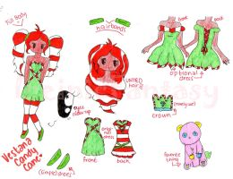 Princess Candy Cane Reference Sheet by IreinicFantasy
