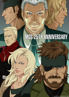 MGS 25TH ANNIVERSARY by purinrinrin