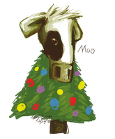 Cowstmas by 66VI