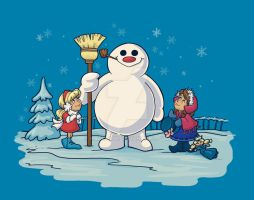 Let's Build a Snowman! by khallion