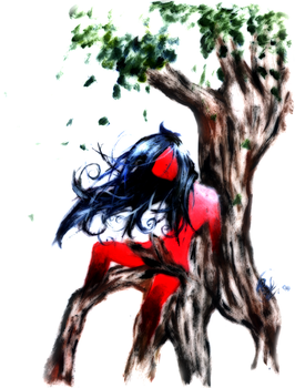 Woman Tree by fantasy-or-reality