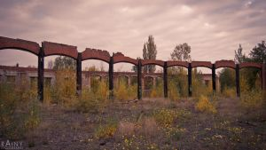 Lost Place Roundhouse #4 by Rainyphoto