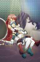 Madoka Magica: SxK Just Like in the Books v2 by neo-dragon