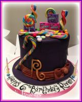 Wonka's Top Hat Cake by gertygetsgangster
