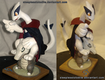 'To lunch' Merlot and Captain Sculpt by SleeplessTotodile