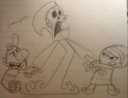 Grim Adventures of Billy and Mandy_Original by LoonataniaTaushaMay