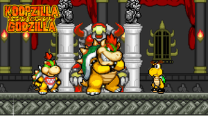 General Karnage and Bowser & His Son by KingAsylus91