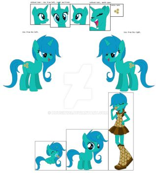 Aqua Dot River ref sheet by housin123
