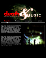 death and music by probotech