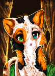 MS paint challenge - 1 - Calico +VIDEO+ by chillis-art