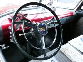 1950 Oldsmobile 88 Futuramic Club Sedan Dashboard by RoadTripDog