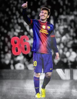 Messi 86 by NINJAIWORKS