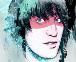 Noel Fielding by annfable