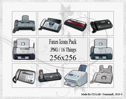 Faxes Icons Pack by conzumir