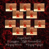 Heart set2 wicasa-stock by Wicasa-stock