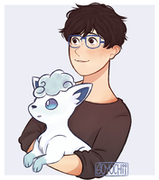 Yoi/Pokemon Crossover by soyochii
