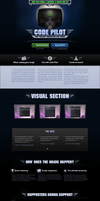 Code Pilot website by tomeqq