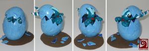 dragon easter egg blue by Luna-cuteXD