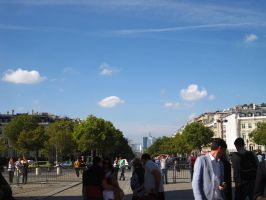 PARIS: At the Arc de Triomphe by beekay84