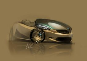 BMW sketch by cristianci
