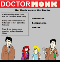 Doctor Who-Monk Crossover by Aetherartist