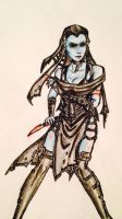 Shamai- Ready To Fight by RelentlesBloodWolf00