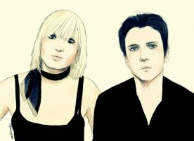 The Raveonettes by overkill79